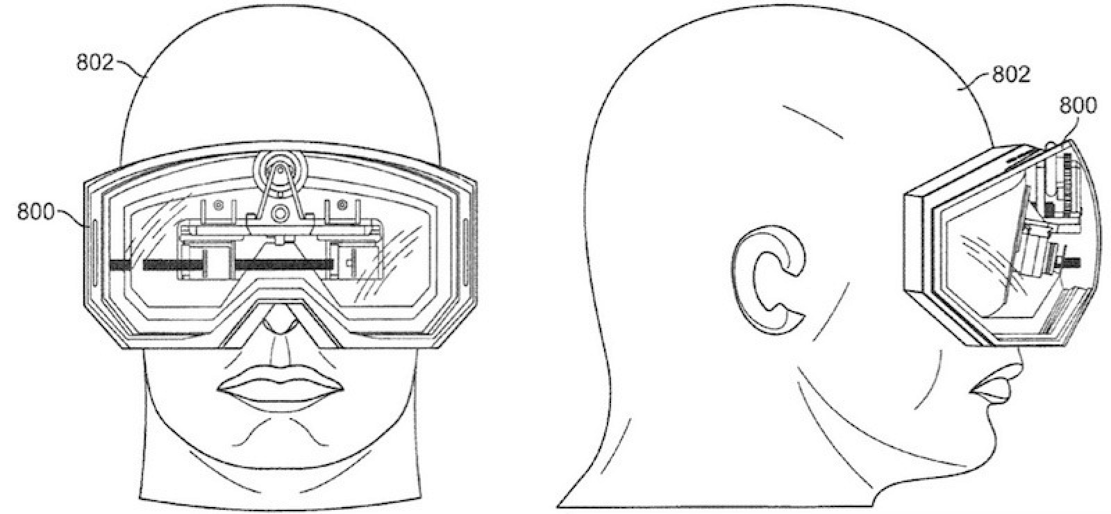 Apple's Work on Video Goggles Highlighted in Newly Granted