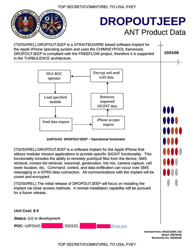 9d3eae4ee3023 NSA Was Able to Capture Live Data From Compromised iPhones in 2008 ...