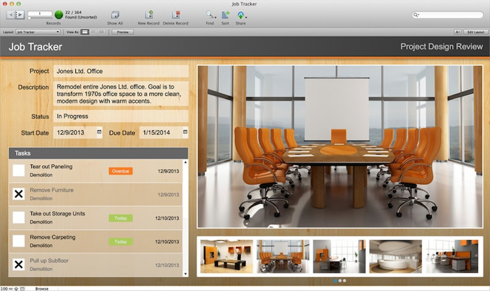 FileMaker Pro Launches With Web Access Enhanced Tools For IOS - Filemaker pro templates
