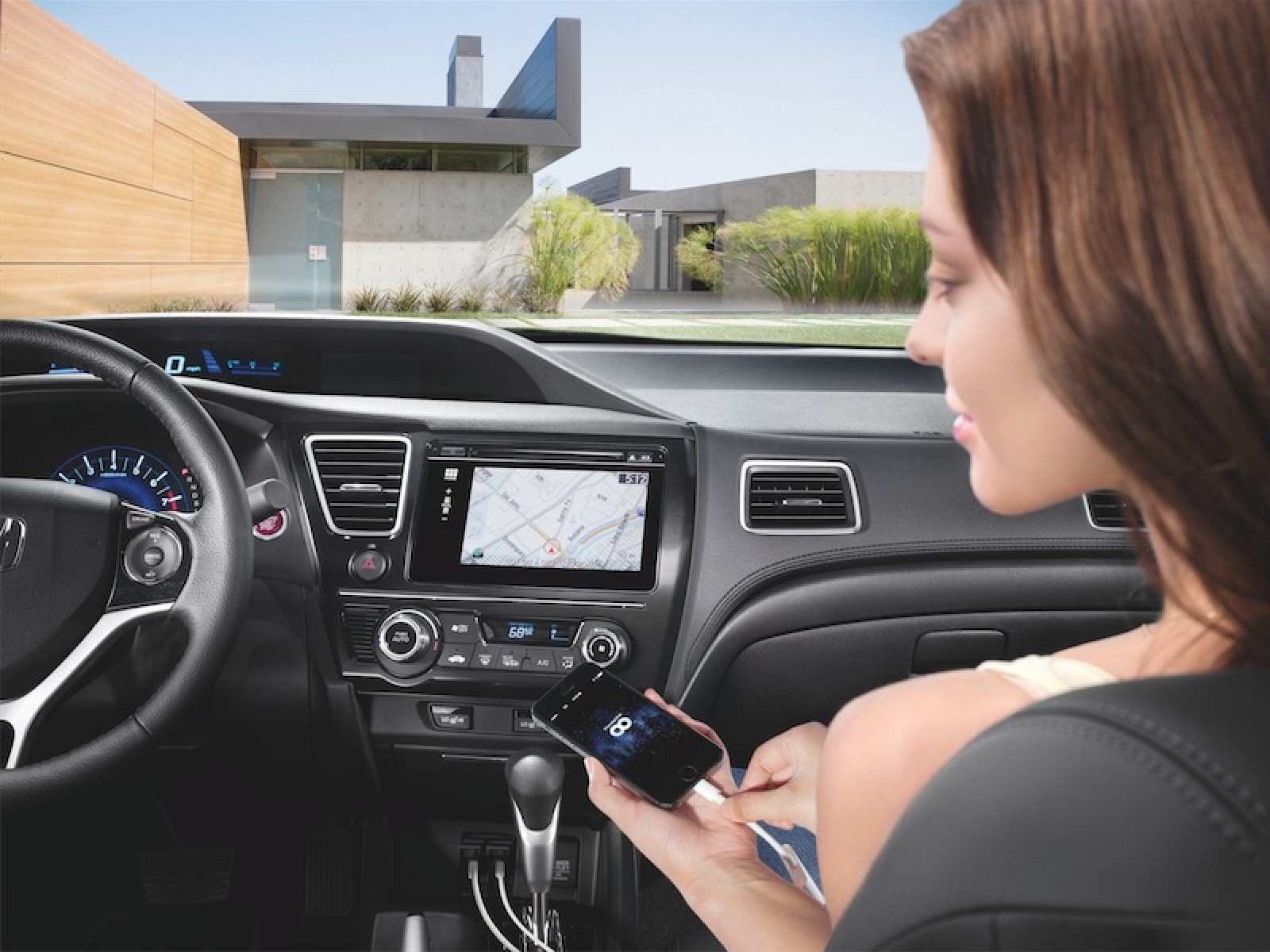 Honda Boosts iOS Car Integration with New HondaLink Services for 2014 Civic,  2015 Fit - MacRumors