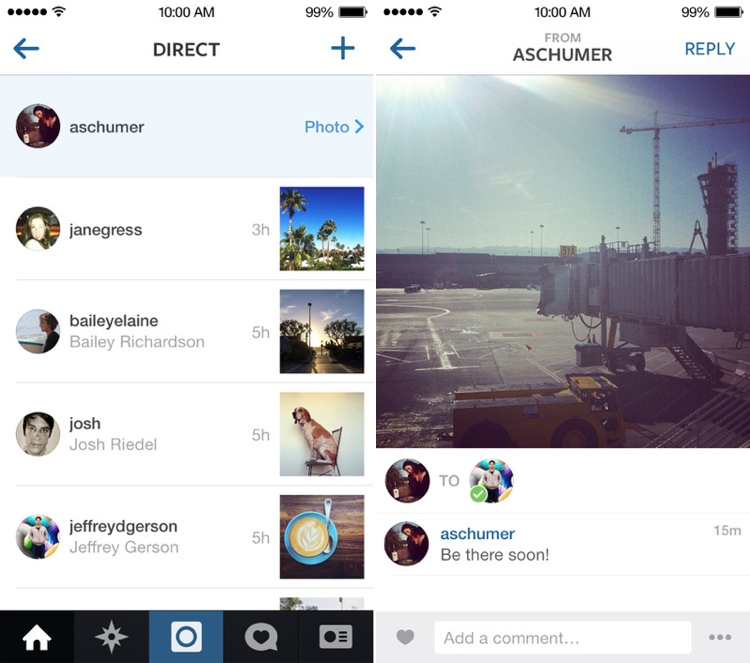 Instagram updated with instagram direct private photo and video instagramdirect ccuart Choice Image