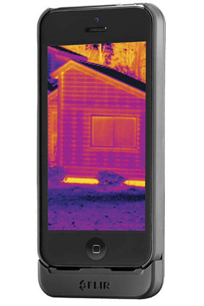 thermal camera iphone ces 2014 flir systems debuts flir one thermal 6621