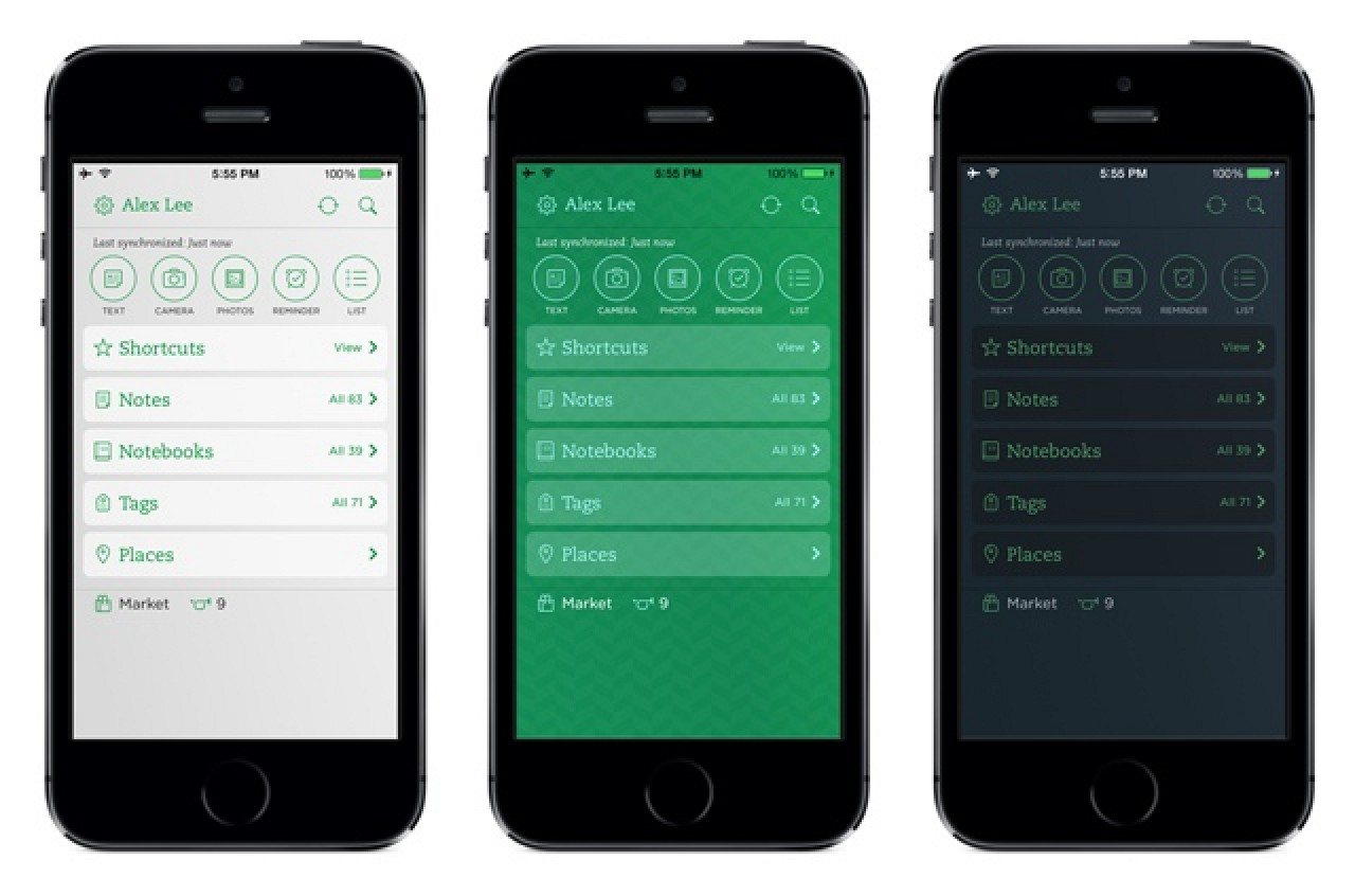 Evernote for iOS Updated With New Customization Options, Speed ...