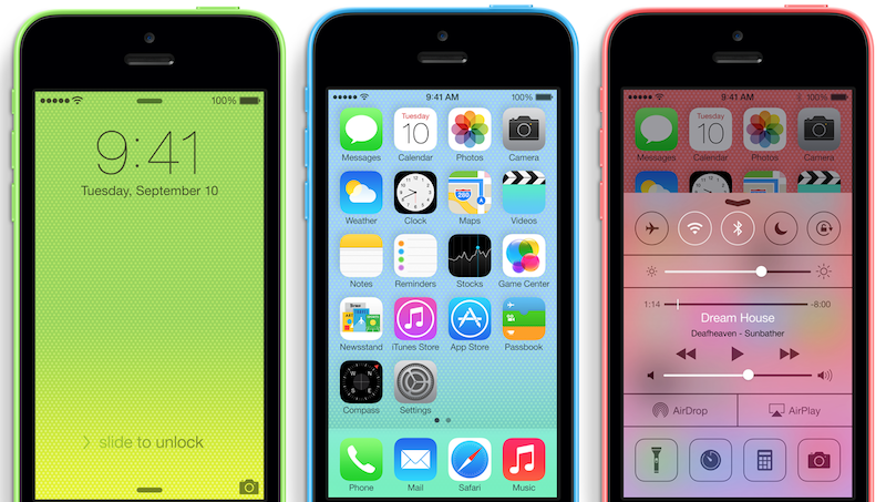 Apple Could Repair Screens of The IPhone 5 C Spot in The Apple Store