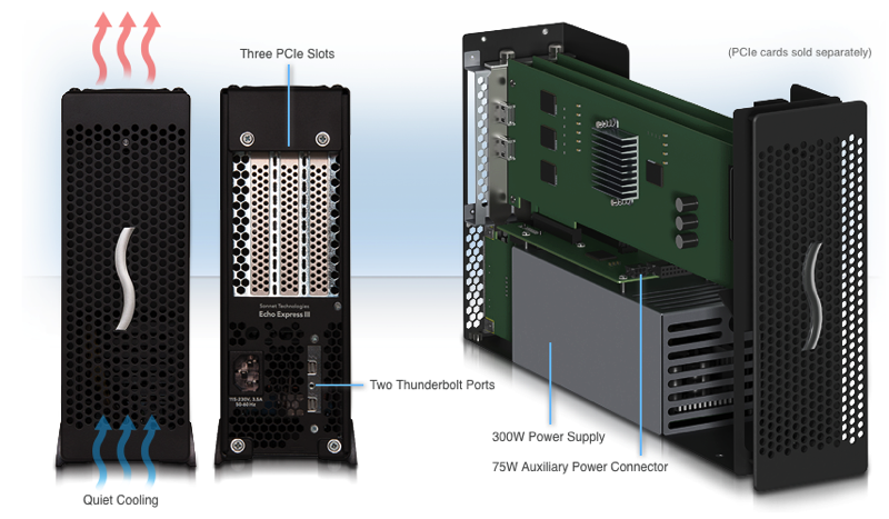 Akitio Announces Thunderbolt 3 PCIe Expansion Chassis - Studio Daily