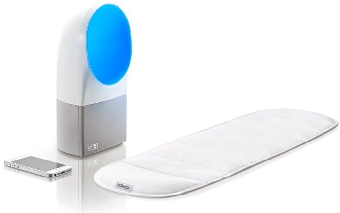 Withings Aura Is Comprised Of A Soft And Discreet Sleep Sensor That Slips Under Your Mattress Works In Synchronization With The Sensitively Designed