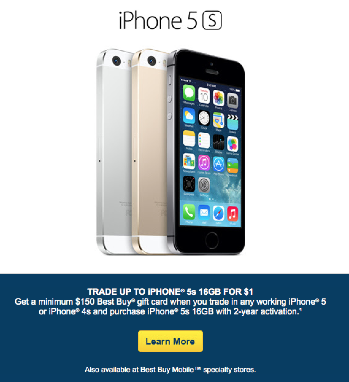 iphone 5s for free best buy offering free 16gb iphone 5s with trade in of 14797