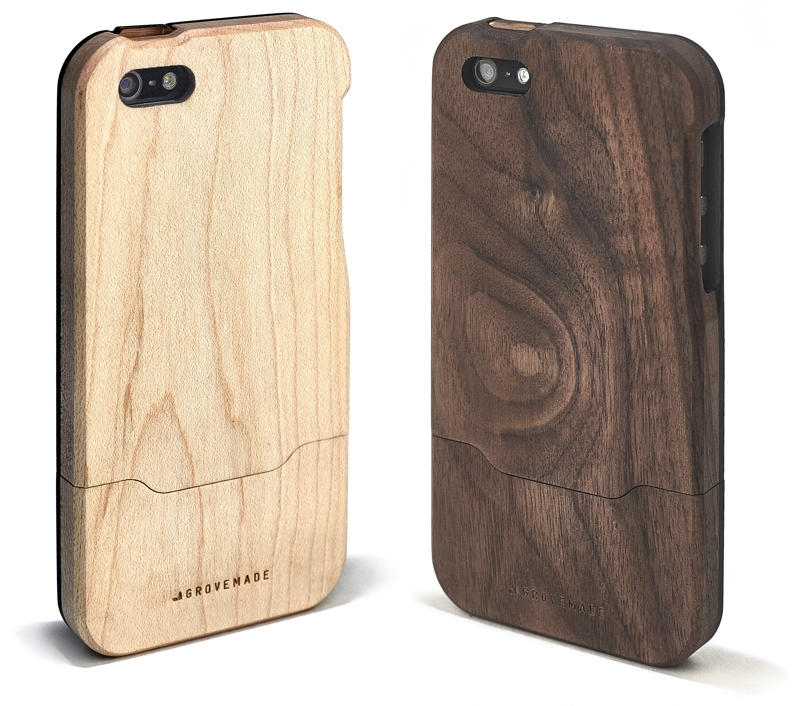 Portland, Oregon-based Grovemade today launched a pair of new  domestically-sourced woods for its line of iPhone cases and docks.