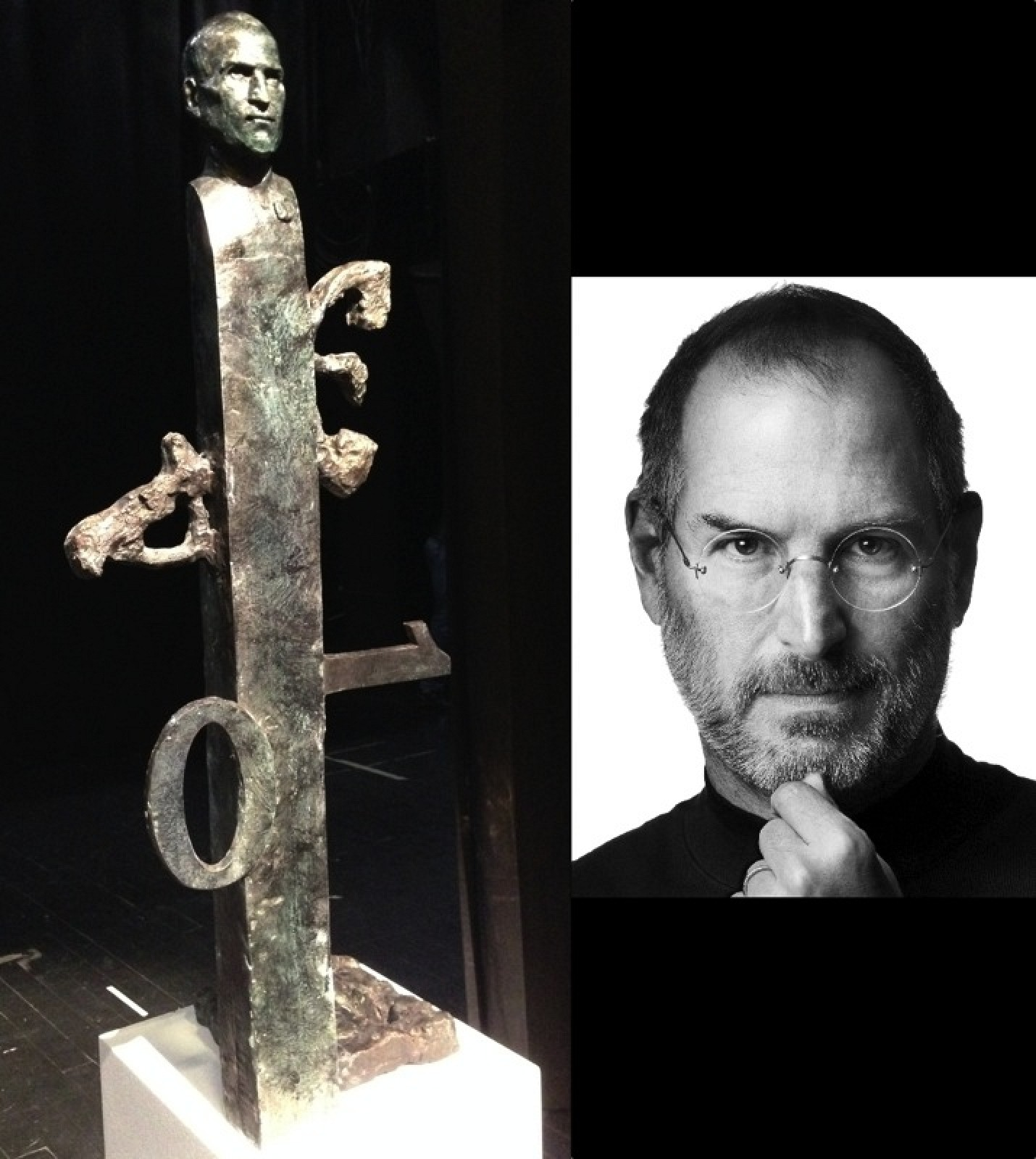 Statue Honoring Steve Jobs Destined for Apple Headquarters Unveiled in ...