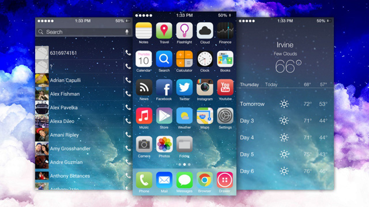Themes in google play - Popular Android Theming App Pulled From Google Play Due To Apple Complaint Over Ios 7 Skin Mac Rumors