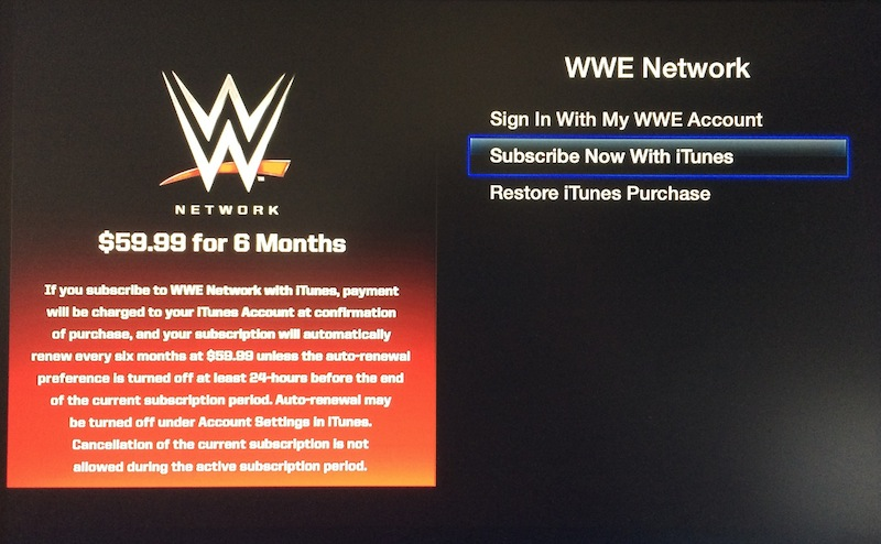 World Wrestling Entertainment Channel Now Available for iOS