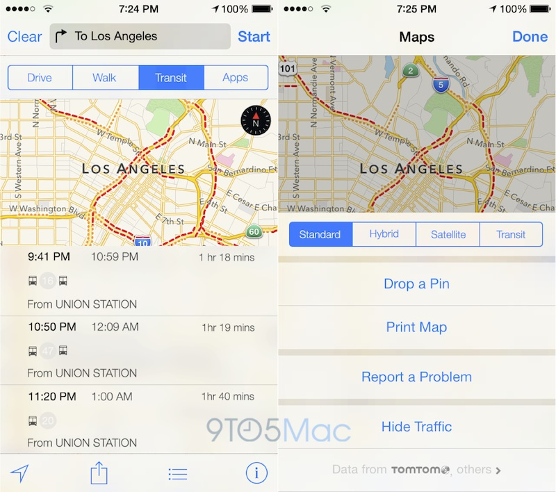 Hopstop Subway Map.Apple Maps To Include Transit Directions Improved Points Of