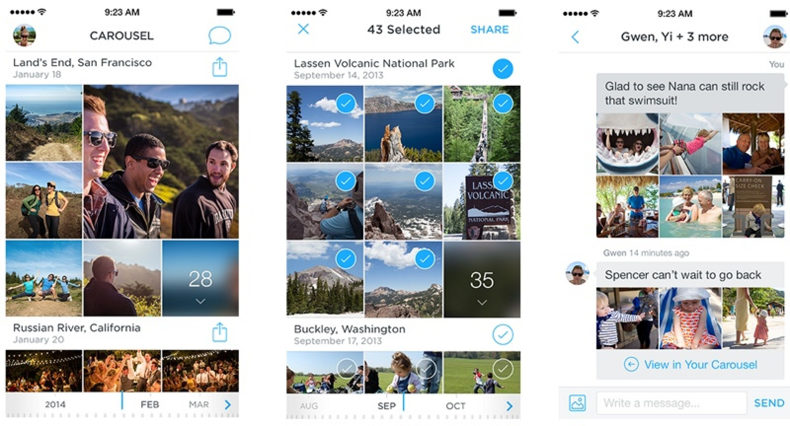 how to delete photo from dropbox iphone