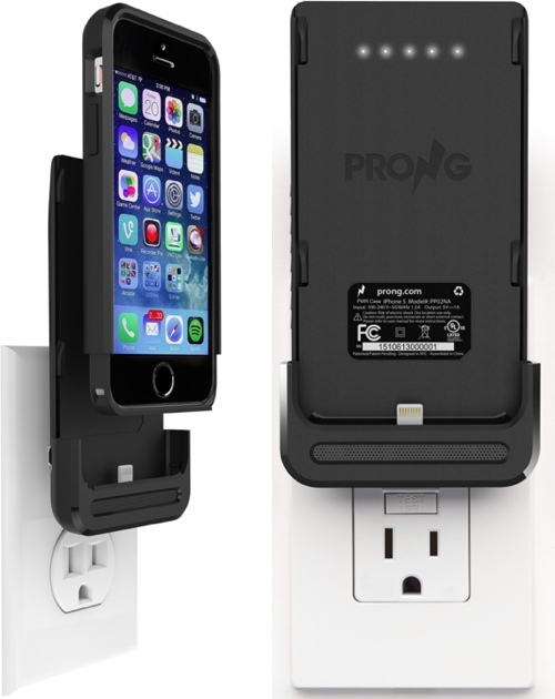 online store d899b a81e8 Prong Debuts iPhone 'PWR Case' With Built-In Plug and Backup Battery ...