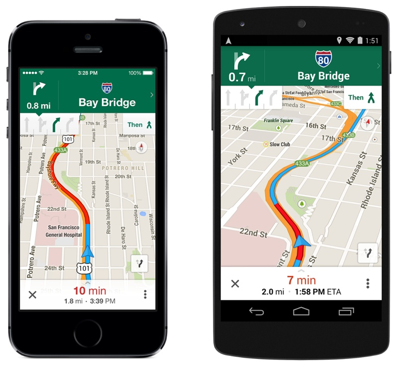Google Maps for iOS Gains Uber Integration, Lane Guidance ... on garmin gps maps, golf gps maps, desktop gps maps, digital gps maps, mobile gps maps, gps marine maps, online gps maps,