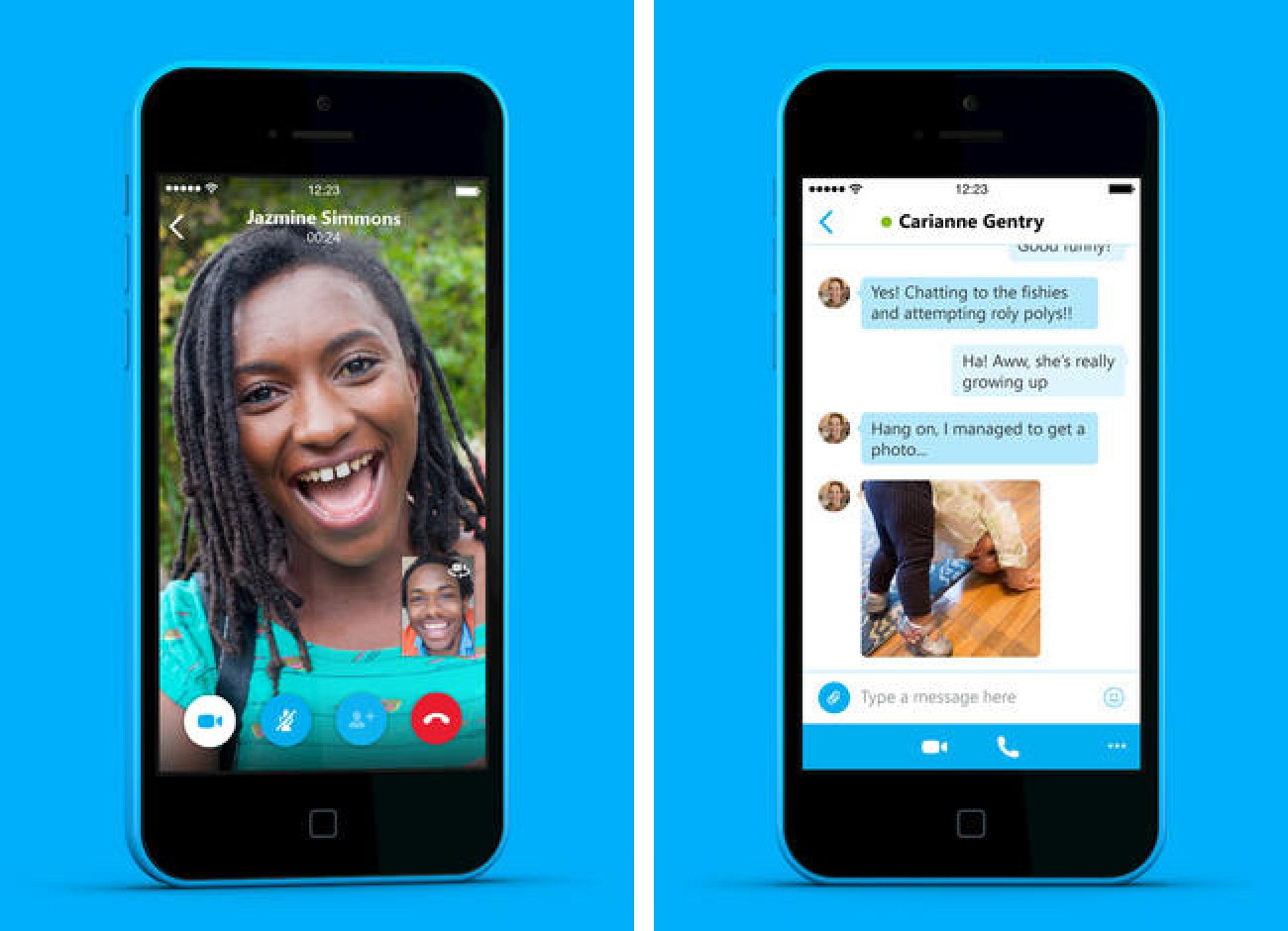 on iphone redesigned skype 5 0 for iphone launching today macrumors