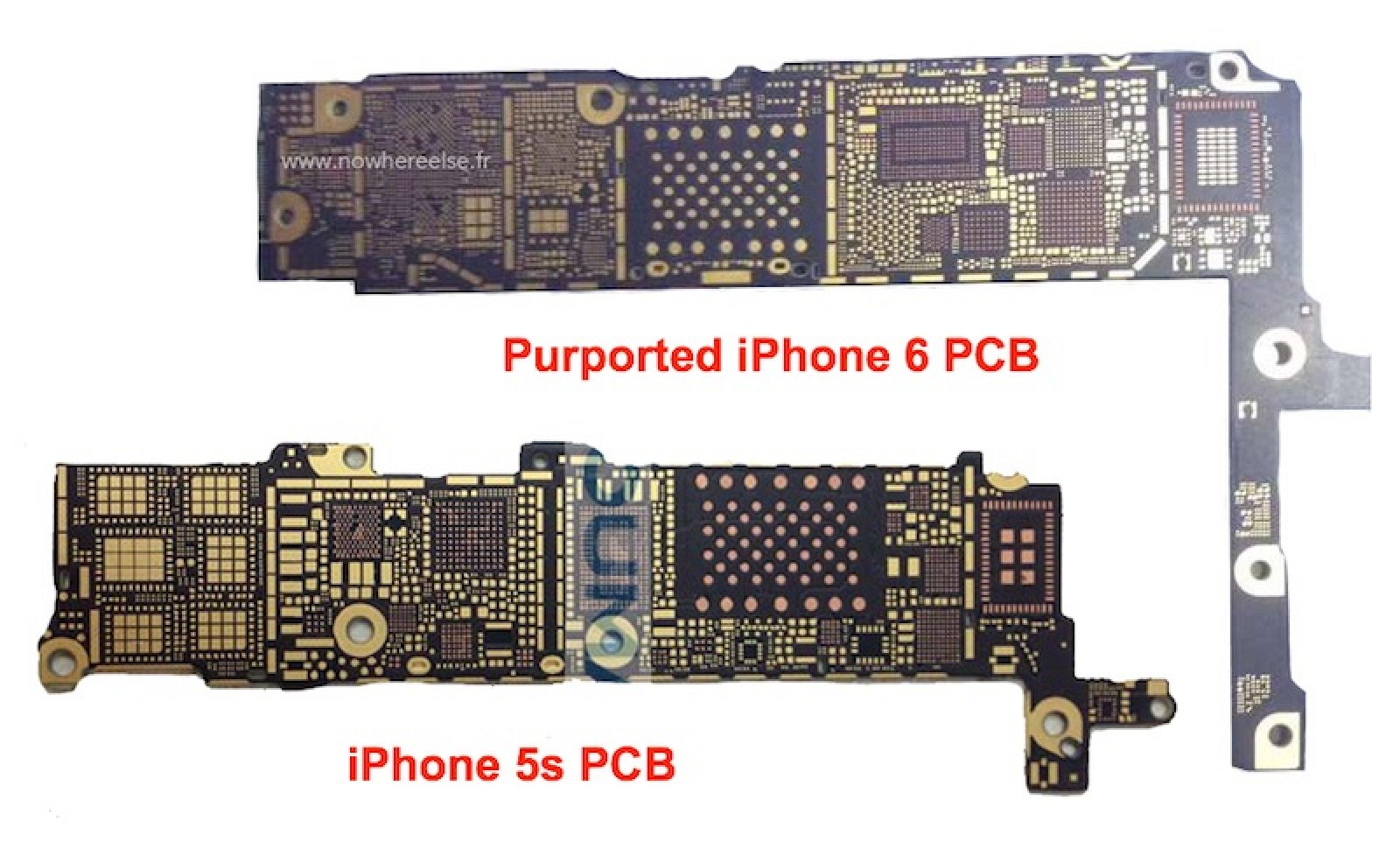 bare iphone 6 logic board surfaces, claimed to support nfc ... iphone 5 cord wiring diagram iphone 5 logic board diagram