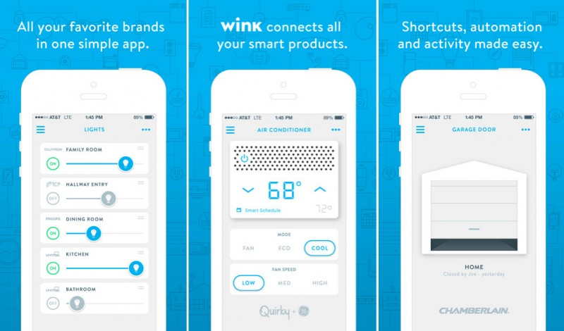 quirky updates wink app to support smart products from