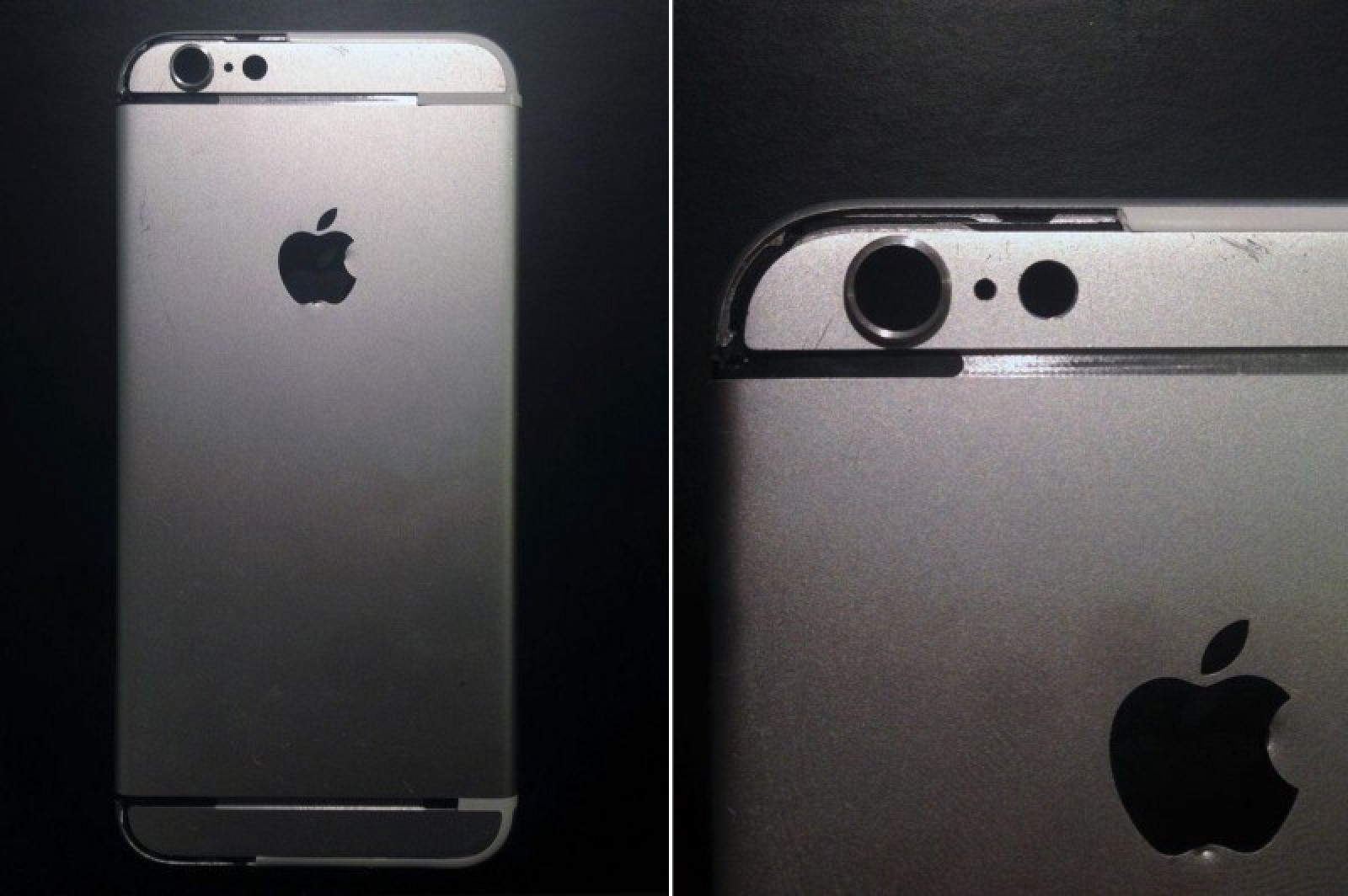 timeless design 25907 cd1c9 Additional Photos of Purported Silver iPhone 6 Rear Shell Surface ...