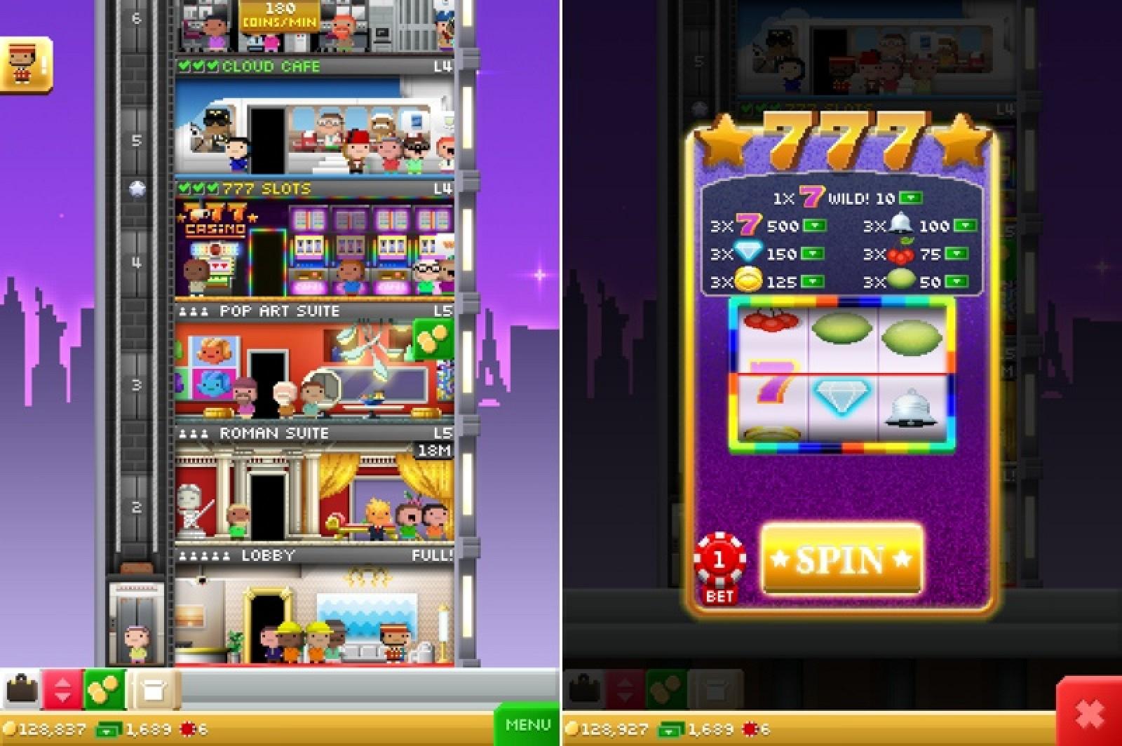 Vegas Towers Game