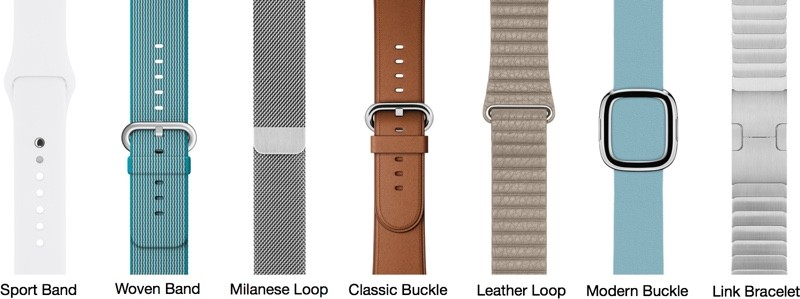 Types Of Watch Bands >> Many Apple Watch Bands And Bundles Currently Listed As Sold Out
