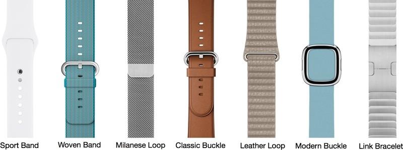 applewatchbandtypes