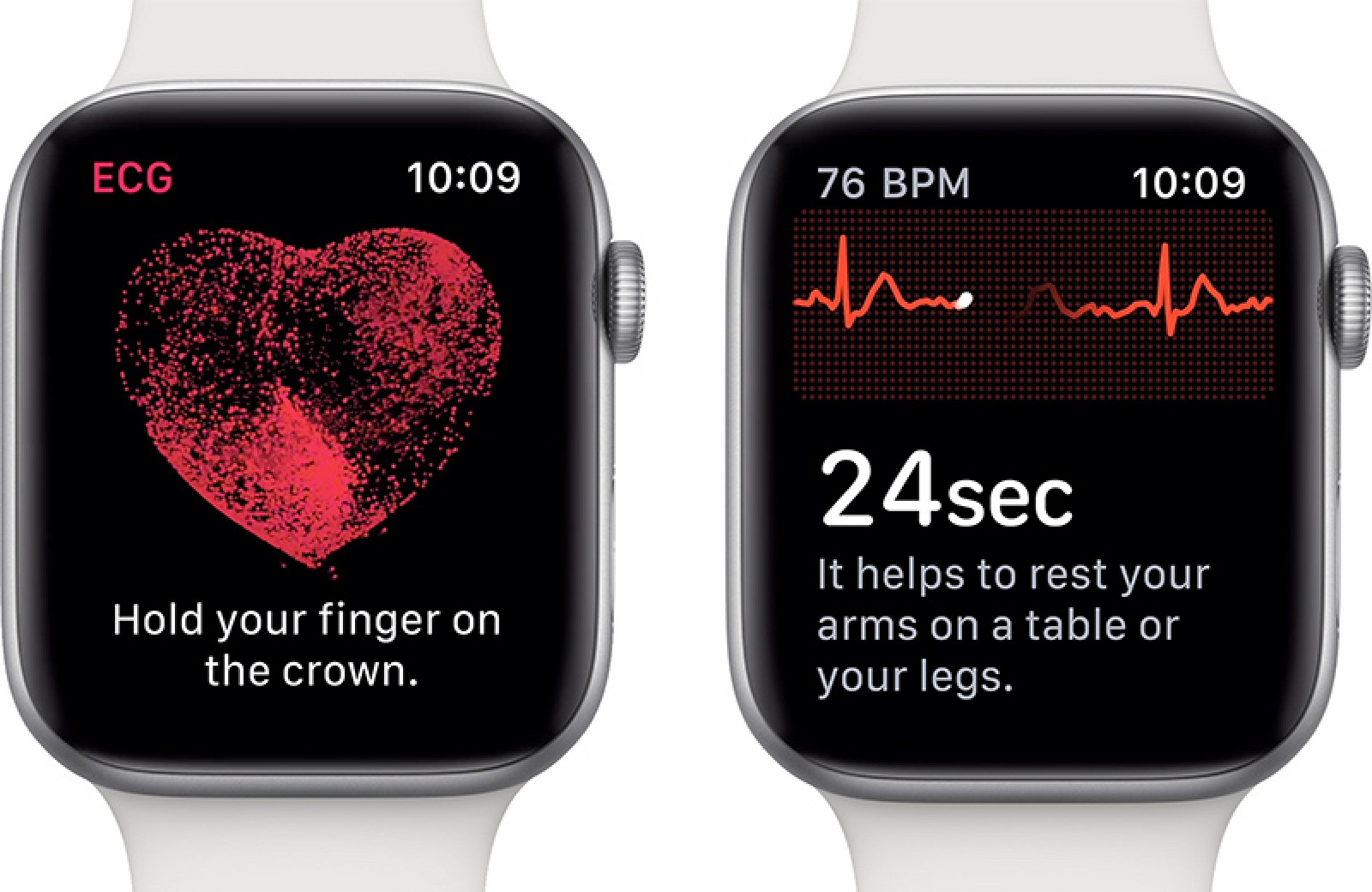 If you change the region of your Apple Watch or iPhone, the ECG app will not be activated outside of the United States