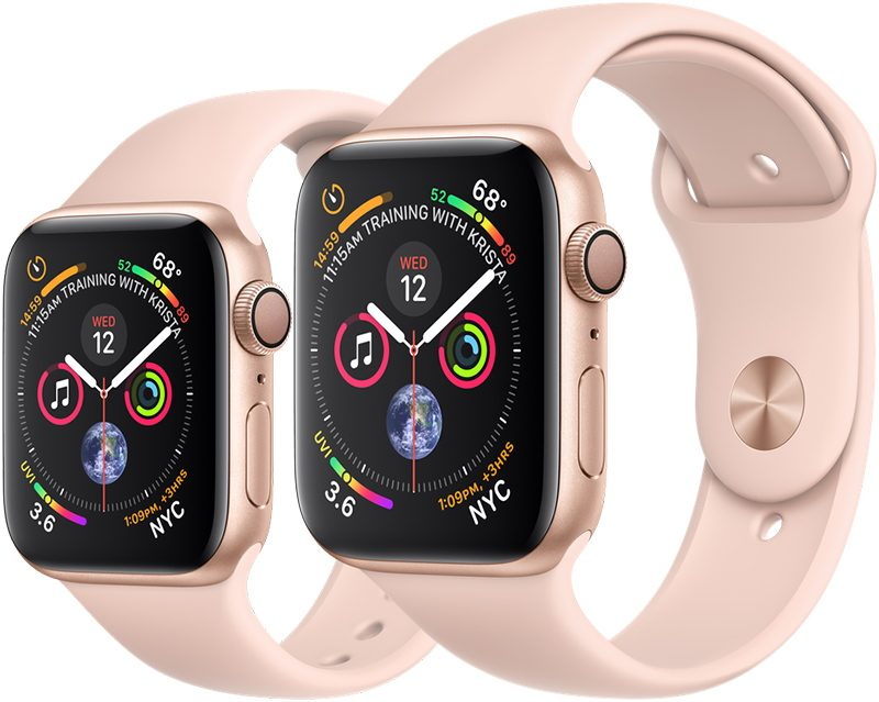 981a6294d Apple retained the iconic rectangular shape of the Apple Watch with the  Series 4 but introduced new