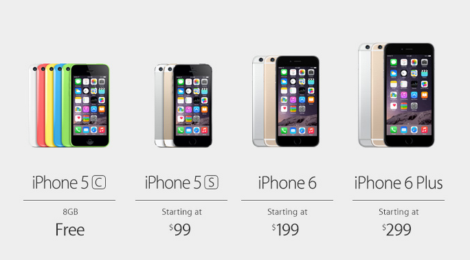 iphone 6 inches apple announces 4 7 inch iphone 6 and 5 5 inch iphone 6 11346