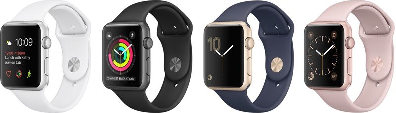 Apple Watch Series 2 Faster Waterproof Available Now