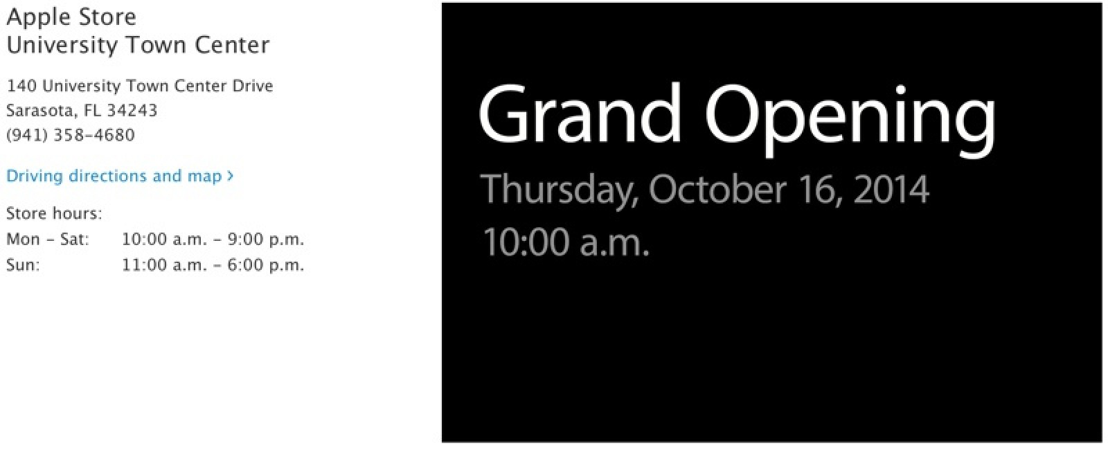 Apple Store Sarasota >> Apple Opening New Retail Stores In Florida And New Hampshire This