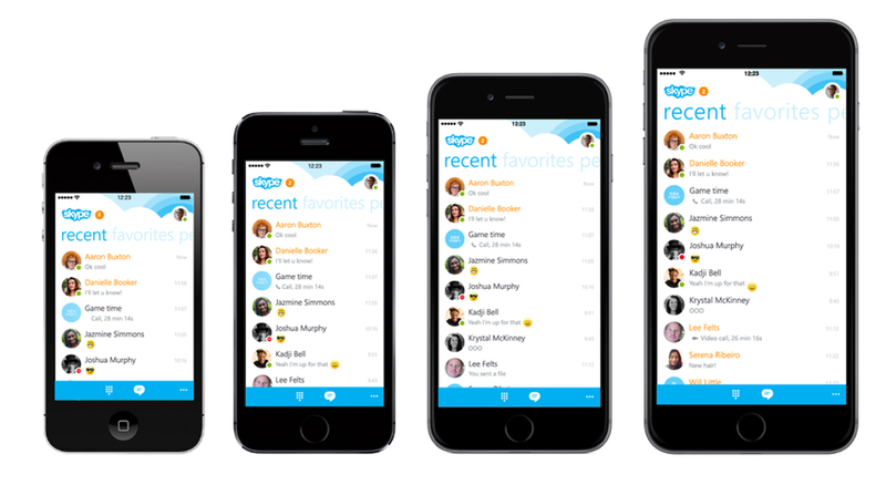 Skype for iPhone Now Optimized for iPhone 6 and 6 Plus ...