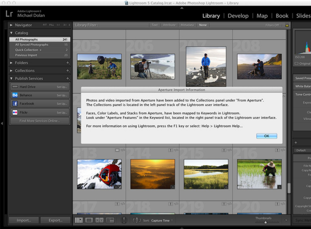 Adobe launches lightroom 57 with built in migration tool for adobe launches lightroom 57 with built in migration tool for aperture and iphoto mac rumors baditri Images