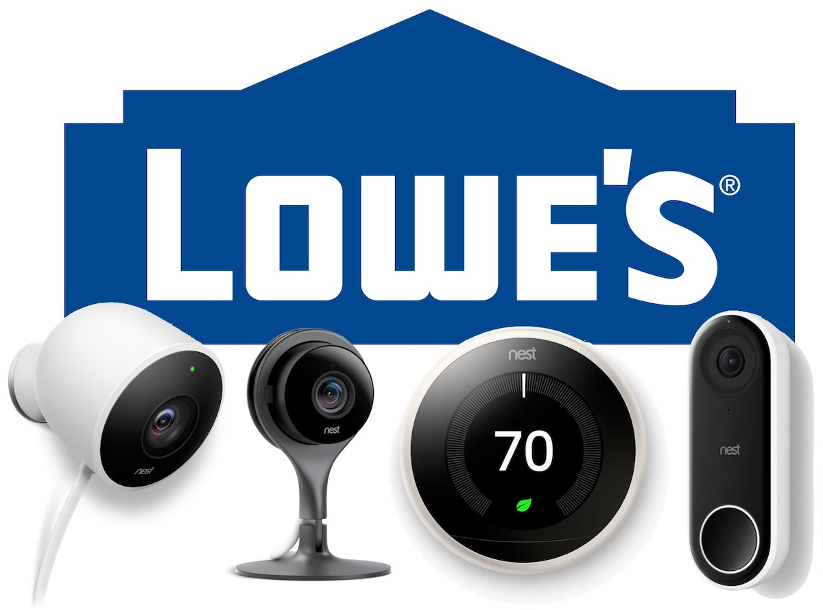 Check out other smart home discounts at Lowe's:  Ring Video Doorbell 2 - $139.00, down from $199.00  Ring Floodlight Outdoor Cam - $189.00, down from $249.00  Select smart entry door locks and deadbolts - save up to 25 percent  Lutron Caseta Wireless Smart Lighting Dimmer Switch Starter Kit - $79.95