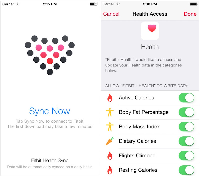 how to link fitbit to iphone sync solver allows fitbit users to view fitness related 5216