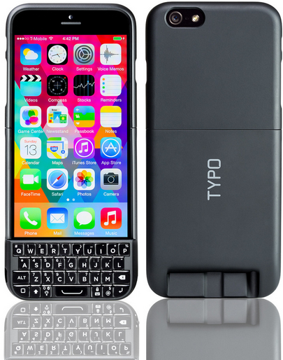 purchase cheap 1c9c9 048f7 Typo Launches New iPhone 6 Keyboard, Avoiding Previous BlackBerry ...