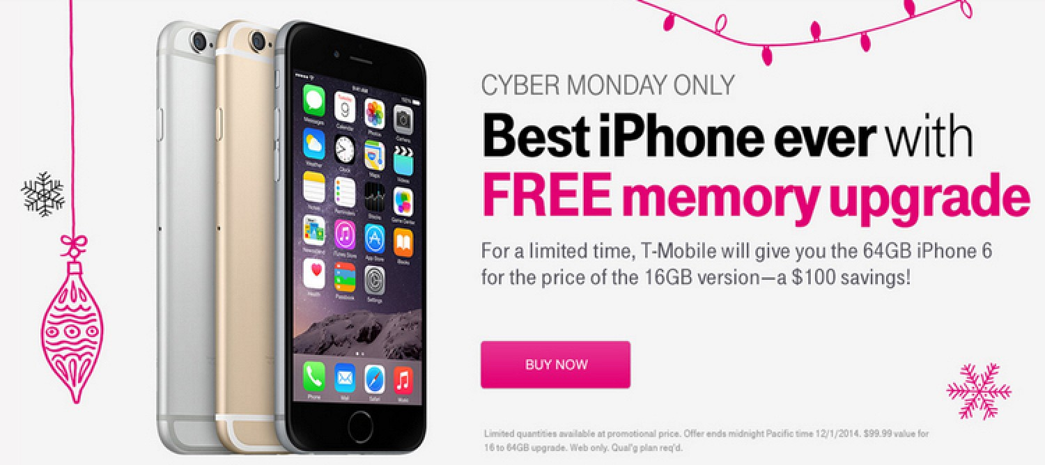 iphone 6 upgrade cost t mobile discounting select iphone models including 64gb 5374