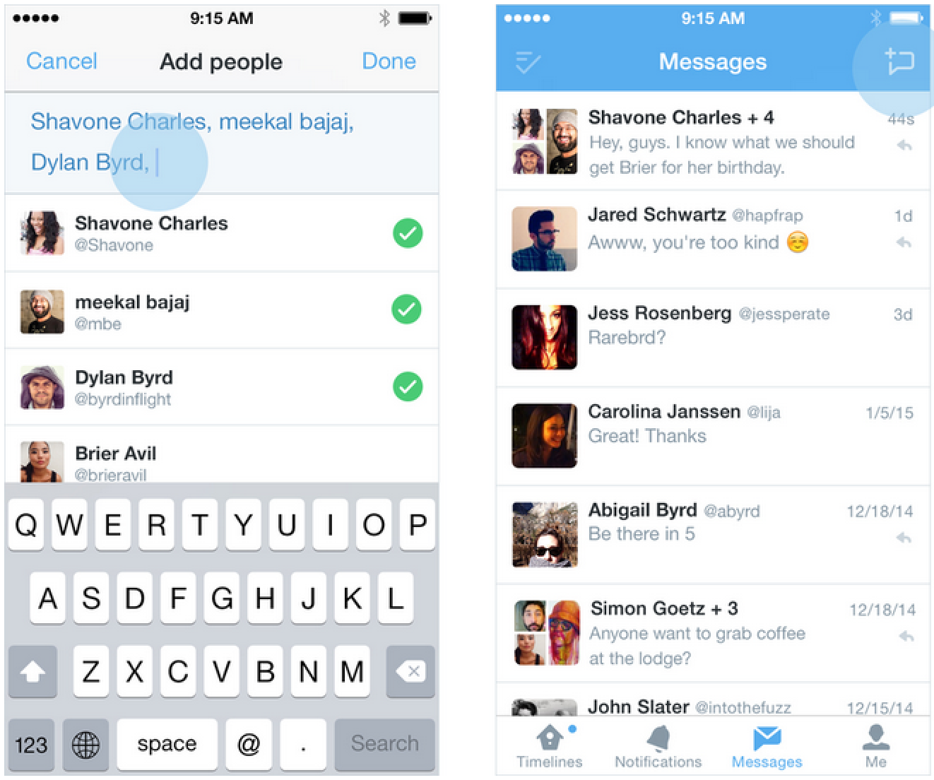 Twitter Updating iOS App With Group Messaging and New Video