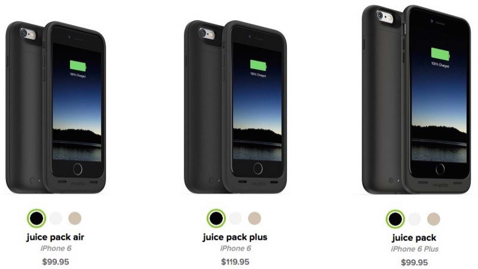 purchase cheap 251c4 44d12 Mophie and Incipio Announce Battery Cases for iPhone 6 and 6 Plus ...