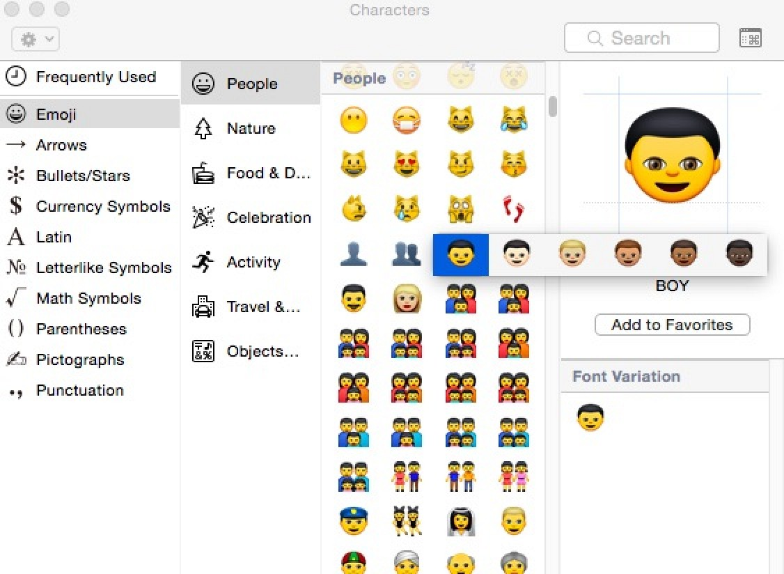 copy and paste iphone emoji