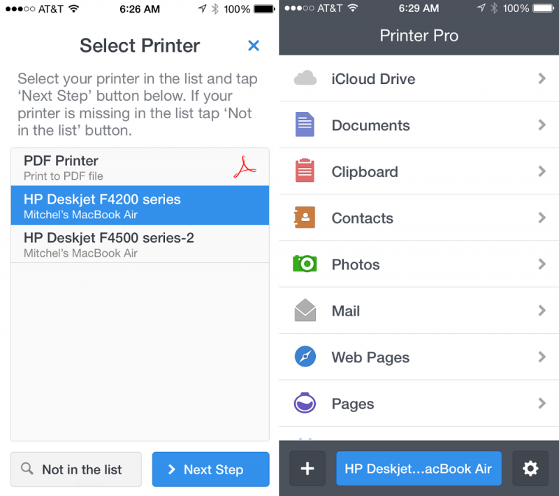 mobile printing app 'printer pro' named apple's free app of the week ...