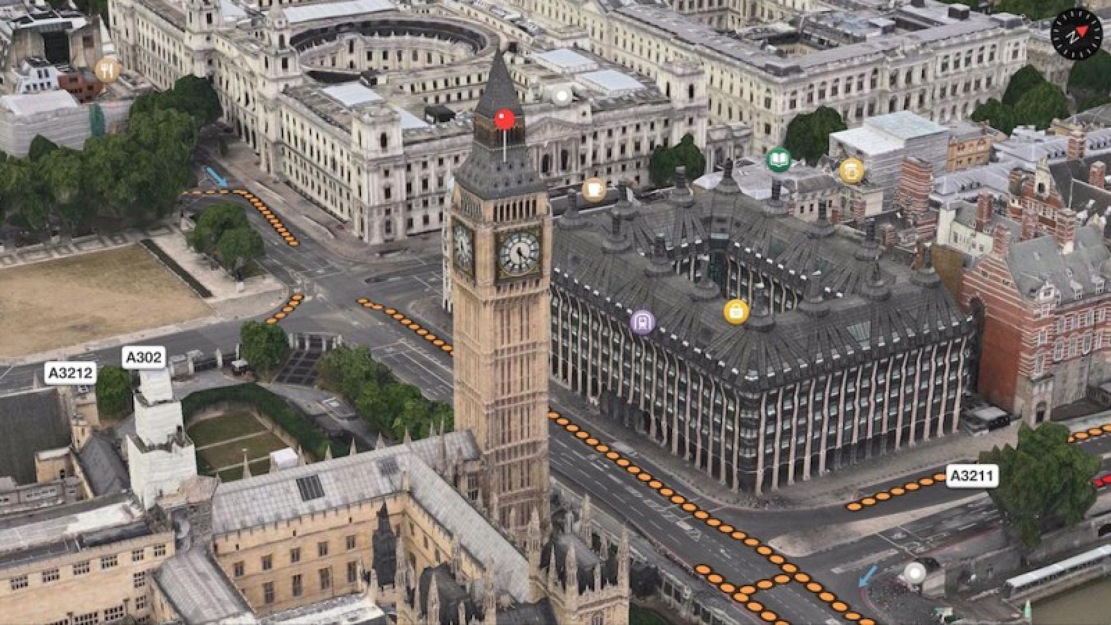 Simple Wallpaper Macbook London - big_ben_clock_apple_maps-800x450  Perfect Image Reference_356970.jpg?retina