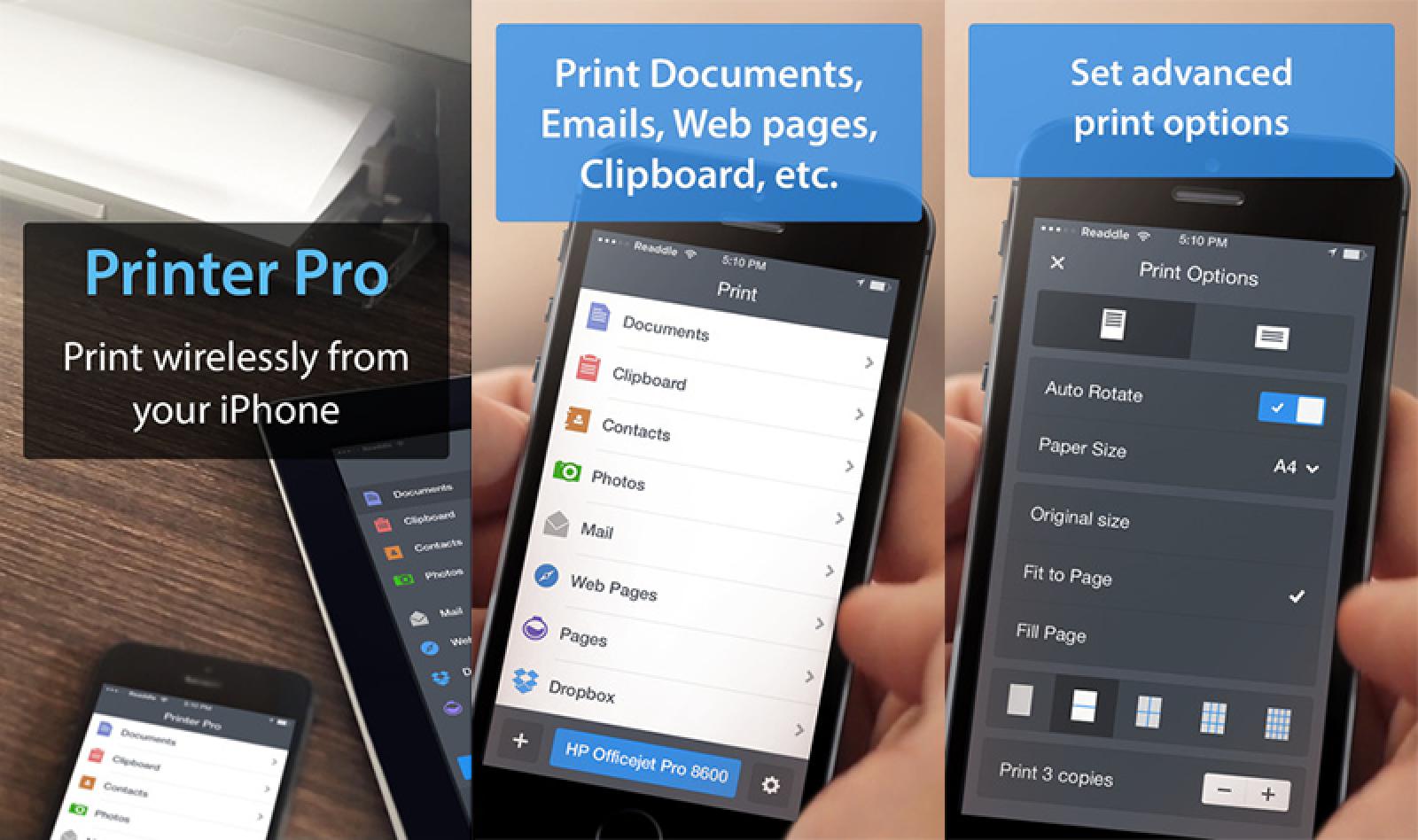 Mobile Printing App 'Printer Pro' Named Apple's Free App of