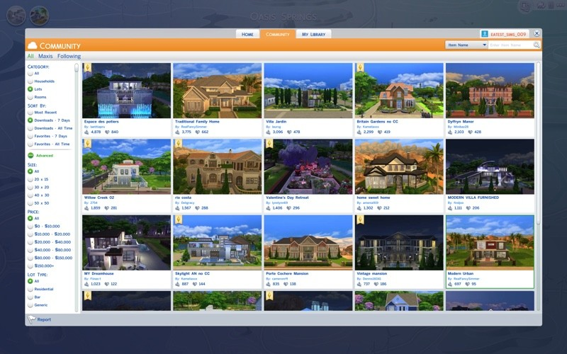 sims4gallery