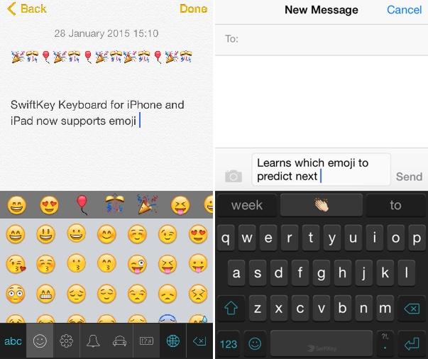 SwiftKey Keyboard for iOS Updated With Emoji, Flow Typing on