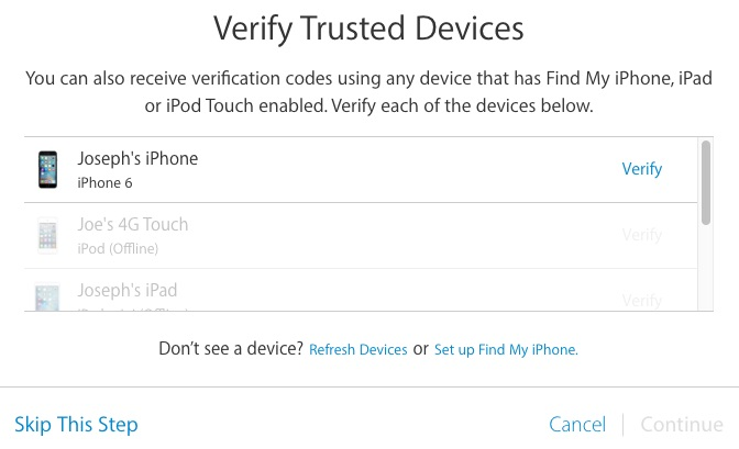 verify-trusted-Apple-ID