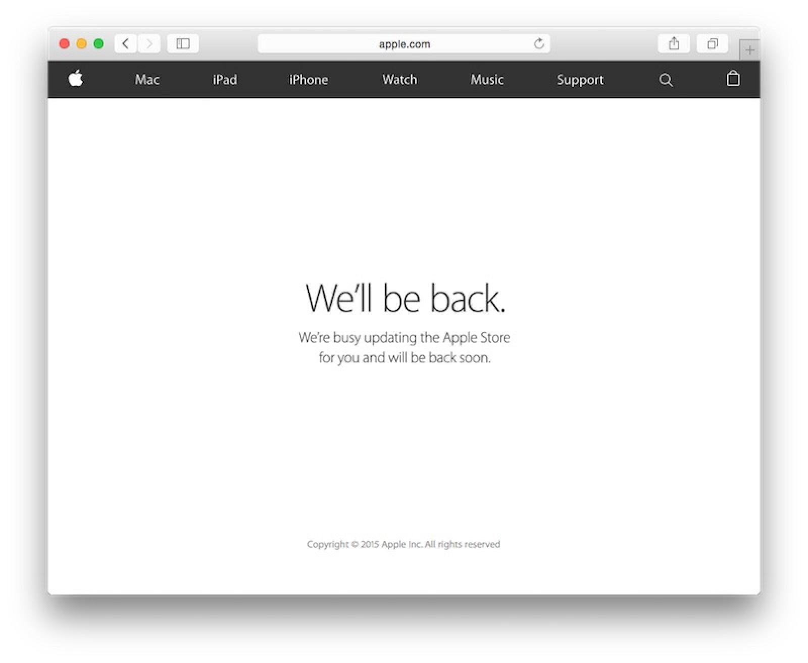 Apple Store Giù Hey Siri