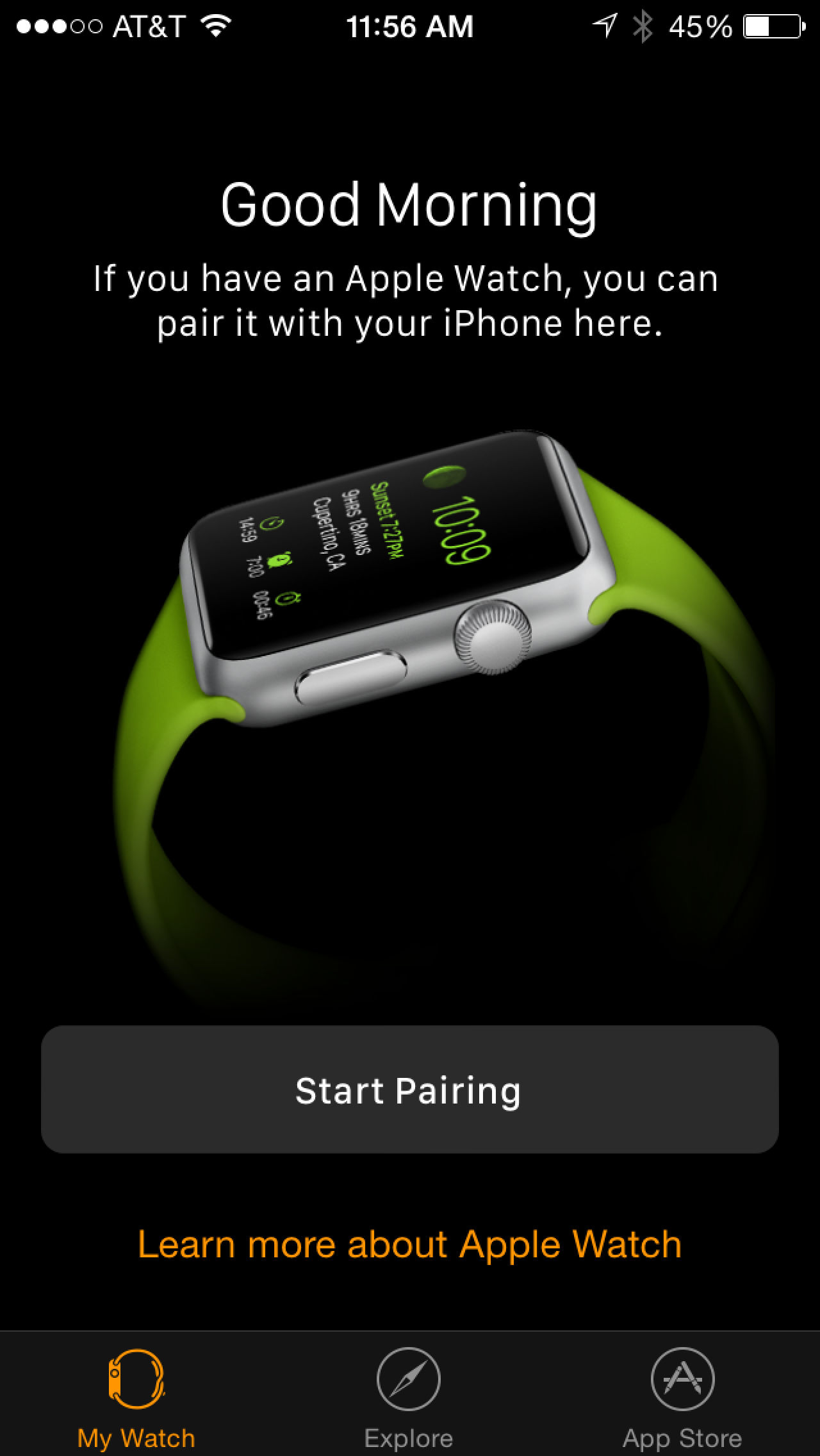 cheap for discount 6a7d1 ccb73 How to Pair Your Apple Watch With Your iPhone and Install Apps ...
