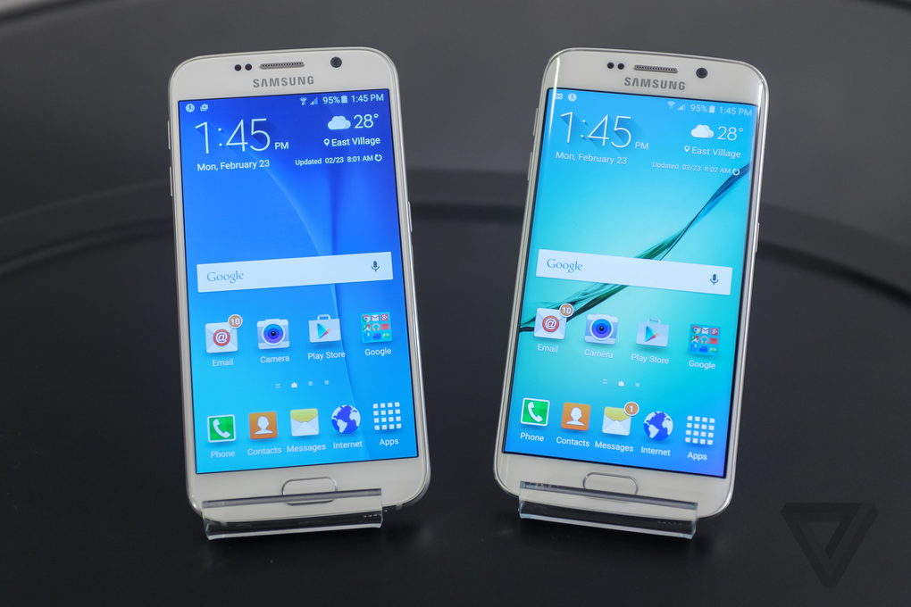 samsung announces galaxy s6 galaxy s6 edge and samsung pay mac rumors. Black Bedroom Furniture Sets. Home Design Ideas