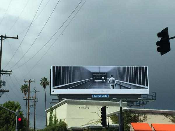 Shot on iPhone 6 LA Billboard